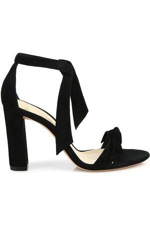 ALEXANDRE BIRMAN Women's Clarita Bow Suede Sandals - - Size 41 (11)