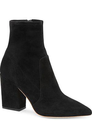 Loeffler Randall Women's Isla Suede Ankle Boots - - Size 10.5