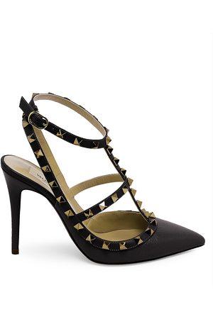 VALENTINO Women's Garavani Rockstud Leather Slings - - Size 42 (12)
