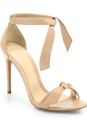 ALEXANDRE BIRMAN Women's Clarita Bow Leather Sandals - - Size 41 (11)