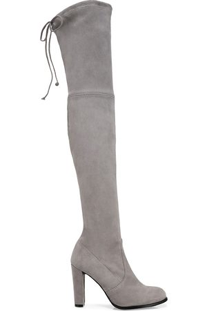 Stuart Weitzman Women's Highland Over-The-Knee Suede Boots - - Size 8.5