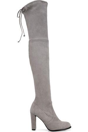 Stuart Weitzman Women's Highland Over-The-Knee Suede Boots - - Size 8.5