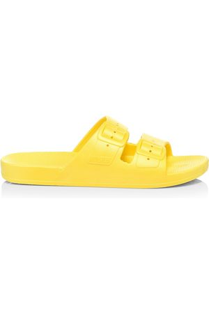 Freedom Moses Women's Plastic Pool Slides - - Size 7 Sandals