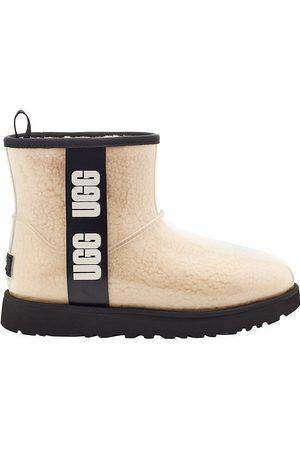 UGG Women's Classic Mini Clear Rain Boots - - Size 5