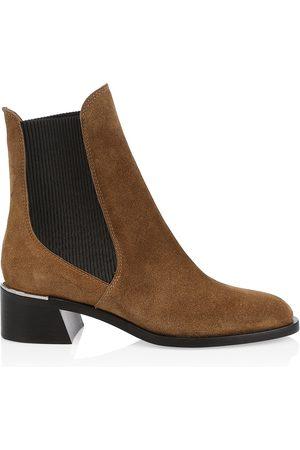 Jimmy Choo Women's Rourke Suede Chelsea Boots - - Size 41 (11)