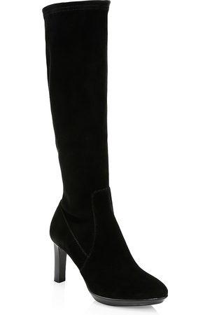 Aquatalia Women's Rhumba Knee-High Suede Boots - - Size 11