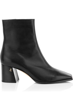 Jimmy Choo Women's Bryelle Leather Ankle Boots - - Size 40.5 (10.5)