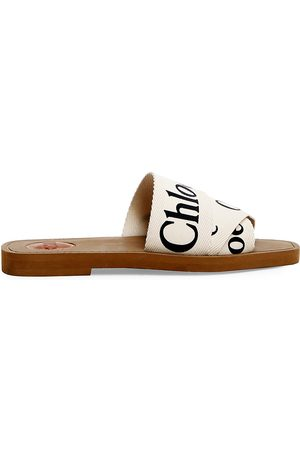 Chloé Women's Woody Flat Sandals - - Size 34 (4)