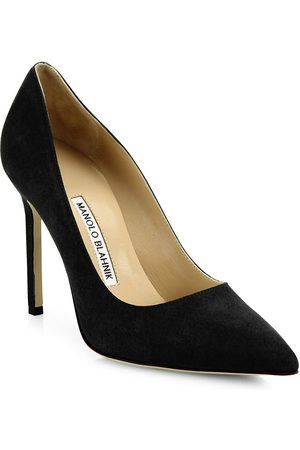 Manolo Blahnik Women's BB 105 Suede Pumps - - Size 41.5 (11.5)