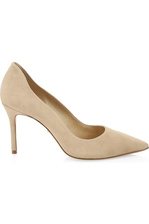 Schutz Women's Analira Suede Pumps - - Size 10.5