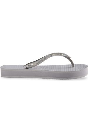 Havaianas Women's Slim Glitter Flatform Flip Flops - - Size 41-42 (11-12)