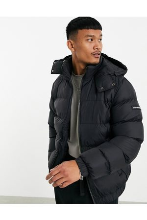 Good For Nothing Puffer jacket with hood in