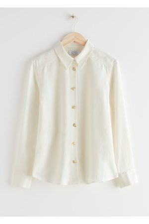 & OTHER STORIES Relaxed Bee Button Shirt
