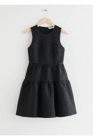 & OTHER STORIES Sleeveless Jacquard Mini Dress