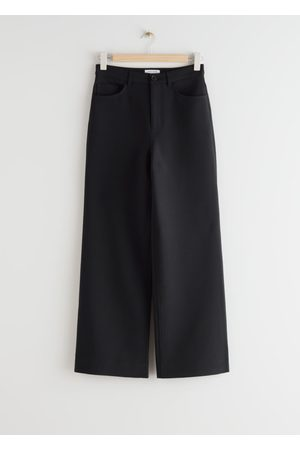 & OTHER STORIES Wide High Waist Trousers