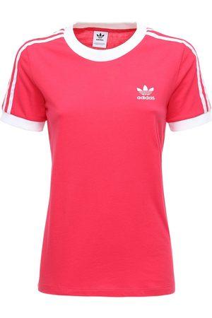 adidas 3 Stripes Cotton T-shirt