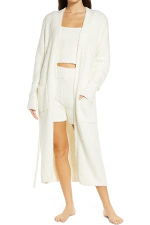 SKIMS Women's Cozy Knit Boucle Robe