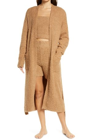 SKIMS Women's Cozy Knit Boucle Robe