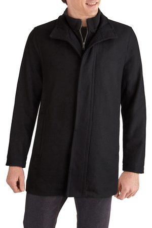 Cole Haan Men's Melton Wool Blend Topcoat