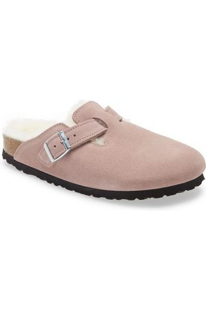 Birkenstock Women's Boston Genuine Shearling Lined Clog
