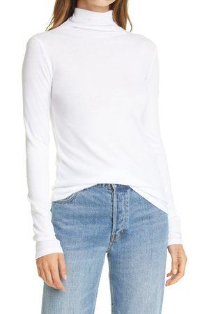 Vince Women's Cotton Turtleneck Top