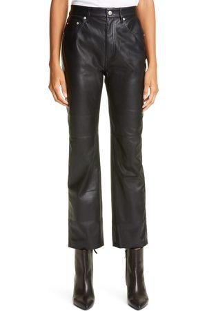 Nanushka Women's Vinni Faux Leather Pants