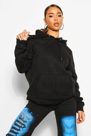 Boohoo Womens Basic Over The Head Hoody - - 2