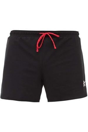 District Vision Men Sports Shorts - Simon Logo-print Stretch-jersey Shorts - Mens
