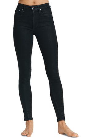 RAG&BONE Nina High Rise Skinny Jeans in Coated