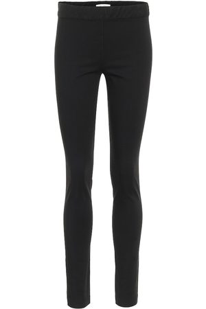 The Row Stratton stretch-cotton leggings