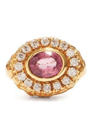 JADE JAGGER Women Rings - Diamond, Spinel & 18kt Gold Ring - Womens - Multi