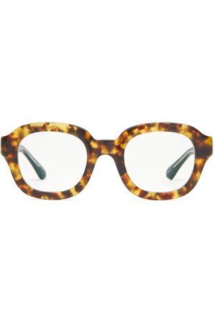 MATSUDA Square Acetate Glasses - Mens - Tortoiseshell