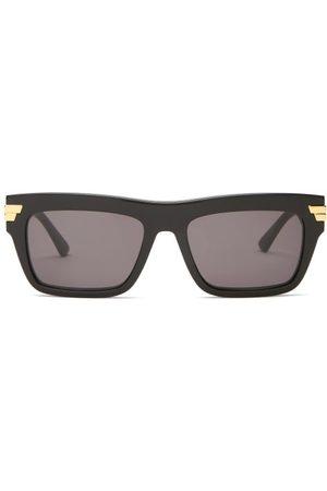 Bottega Veneta Square Acetate Sunglasses - Mens