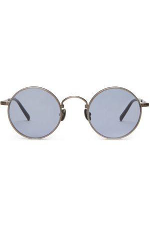 MATSUDA M3100 Round Titanium Sunglasses - Mens