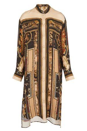 Balmain Women Casual Dresses - Long printed shirt