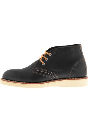 Red Wing Classic Chukka Boots Grey