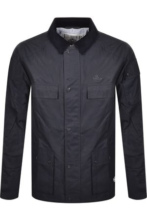 Billionaire Boys Club Contrast Raincoat Navy
