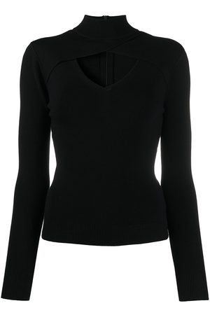 Michael Kors Cut-out roll neck jumper