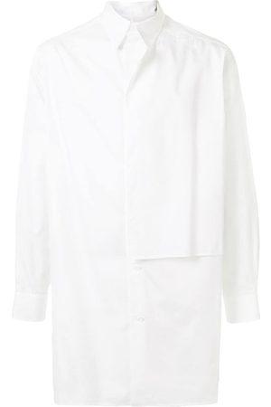 YOHJI YAMAMOTO Men Casual - Oversized panelled shirt