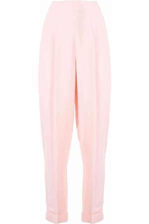 DELPOZO Crepe carrot let trousers