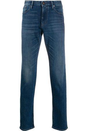Emporio Armani Straight leg dark wash jeans