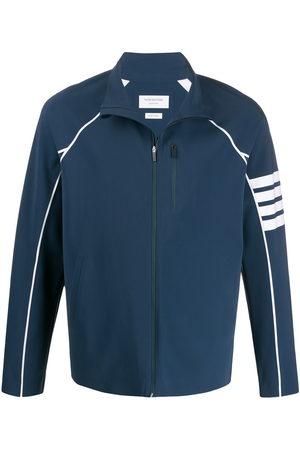 Thom Browne Men Jackets - Lightweight tech 4-Bar jacket