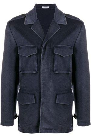 Boglioli Men Blazers - Multiple pocket cashmere jacket
