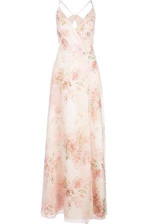 Marchesa Notte Bridesmaids Women Printed Dresses - Bridesmaids floral gown