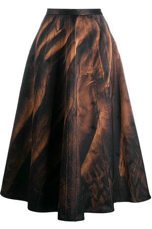 Marni Abstract print circle skirt