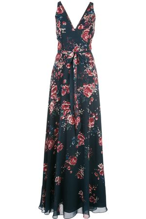 Marchesa Notte Bridesmaids Bridesmaids floral gown