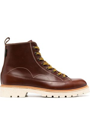 Paul Smith Men Lace-up Boots - Lace-up leather boots