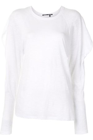 Proenza Schouler Draped long-sleeves top