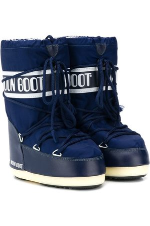Moon Boot Logo lace-up snow boots