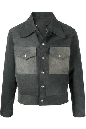 Maison Margiela Panelled shirt jacket